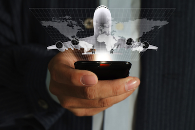 Airlines are relying on mobile marketing to build brand loyalty with the connected traveler