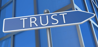 Good business relationships are built on trust.